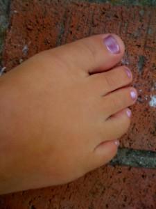 Målade naglar... för första gången på 20 år?