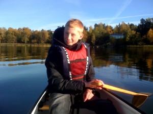 Jonas i kanoten