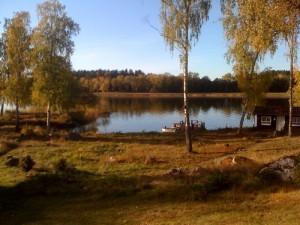 Vårt paradis. Utsikt från huset.