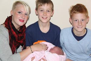 Mina fyra barn i livet!
