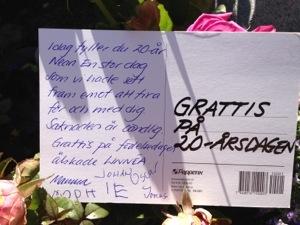 grattis på 20 årsdagen text Ludmillas Blogg » Grattis på 20 årsdagen Linnéa. grattis på 20 årsdagen text